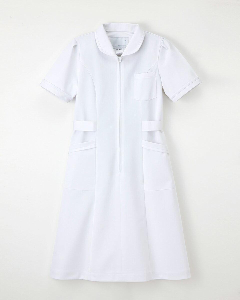 ナガイレーベン MI-4637 ナースウェア ワンピース 白衣