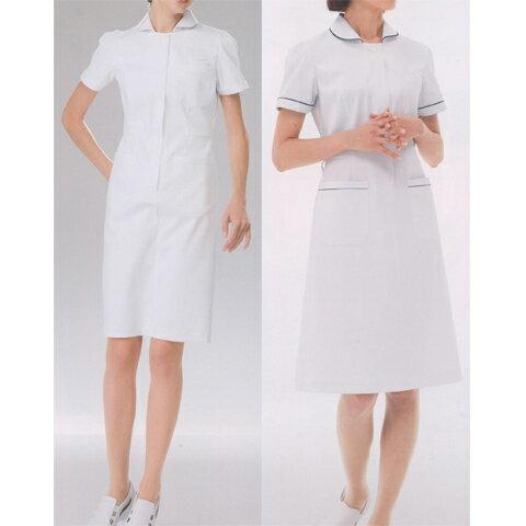 【ナガイレーベン 白衣】FT-4417【ナースウェア ワンピース レディース】