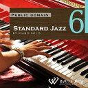 【商用音楽CD】Standard Jazz 6 -by piano solo- (18曲 約56分)♪リラックス音楽 店舗・お店・施設・待合室・ショールーム・イベント 著作権フリー音楽 BGM CD  面倒な著作権処理不要
