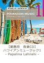 【商用音楽CD】Hawaiian music 1 - Papalina Lahilahi - (22曲 約68分)♪ハッピーな音楽 店舗・お店・施設・ショールー...
