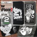 iPhone 7用トム&ジェリー 手帳型ケース インサイド ジェリー/トムとジェリー