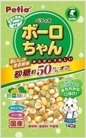 P体にうれしいボーロちゃん野菜Mix140g 【...の商品画像