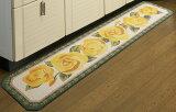 ☆【キッチンマット】【40x240cm】キッチンマット 八角形キッチンマット