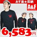 【Abercrombie & Fitch 】アバクロ メンズロンT 全3色/通販/直営店買い付け