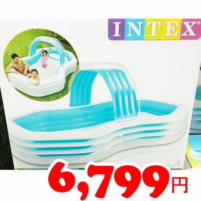 即納★【COSTCO】コストコ通販【INTEX】インテックス ファミリーカバナプール(3.1×1.88×1.3m)