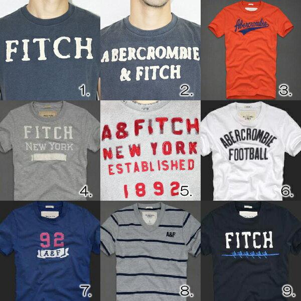 アバクロンビー&フィッチ メンズTシャツ 全9色Abercrombie&Fitch
