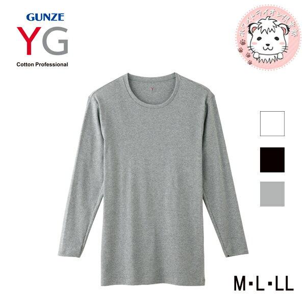 グンゼ YG ワイジー コットン100% ロングスリーブシャツ M L LL