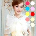 ショール 8色 カラー 結婚式 花嫁 新婦 ブライダル ウェ...