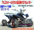 超偏平タイヤ装備!最高峰カスタム4輪バギー(ASKATV50cc)