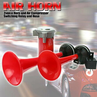 With air horn and compressor (Air Horns/HT-202)