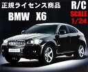 【在庫処分】BMW X6ラジコン 1/24スケール