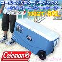 Coleman 大型クーラーボックス エクストリーム ホイールクーラー100QT 95L マリーンブルー 3000001352