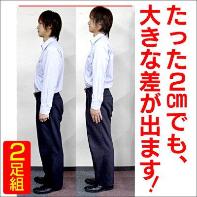 背が伸びるシークレットインソール2足組【カタログ掲載1303】