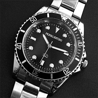 ペレバレンチノブラックシルエット腕時計