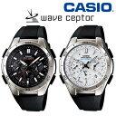 腕時計 メンズ ソーラー 電波 カシオ ソーラー電波時計 ソーラー電波腕時計 ウエーブセプター wave ceptor ソーラー腕時計 CASIO 正規品 電波ソーラー電波時計 誕生日 御祝 ギフト プレゼント マルチバンド6 旅行 電波ソーラー