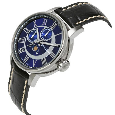 SVALBALスバルバル5気圧防水レザーベルトウォッチメンズ腕時計革ベルト