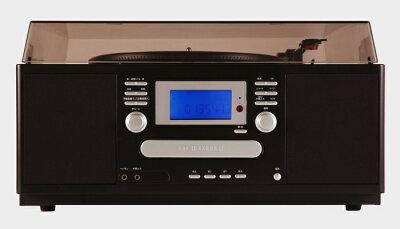 ★パソコン不要★ポイント10倍簡単操作♪NEW・CDコピー機能付きマルチプレーヤーオーディオ機器マルチプレーヤーCD録音音楽AV【暮らしの幸便73078-1】便利家電音楽ダビングレコードプレーヤーCDコピーダビング機能CDカセットオーディオレコード機器