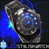 腕時計 ウォッチ メンズ 男性用 うでとけい メンズ 男性用 人気 ランキング おしゃれ シンプル 防水 LED スタイリッシュ プレゼント ギフト おすすめ クォーツ かっこいい シンプル 個性的 斬新 重厚 スタイリッシュ 05P03Sep16