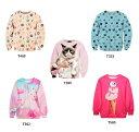 レディース 猫 ネコ 幾何学 エッジ デジタル プリント トレーナー メンズ ユニセックス 長袖 ロンT Tシャツ wigggy-00039