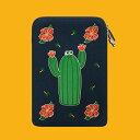 楽天wiggle wiggleLaptop Sleeve - Cactus ノートパソコン ケース ポーチ サイズ PCケース 13インチ 15インチ サボテン 可愛い かわいい おしゃれ おすすめ ウィグルウィグル wigglewiggle 韓国 人気