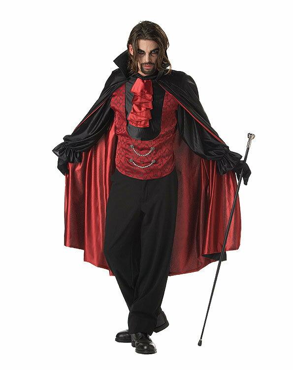 8月下旬入荷予約 送料無料 ブラッディカウント Count Bloodthirst /大人用 仮装 衣装 コスチューム メンズ 男性用 悪魔:ウィッグの専門店ウィッグランド