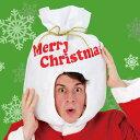 サンタ袋ヘッド クリスマス サンタクロース かぶりもの クリ...