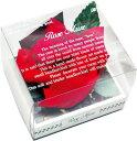 ロゼミュール タオルチーフのバラの花 1輪 レッド バラ プレゼント 母の日 プレゼント お誕生日プレゼント ギフト 結婚祝い