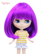 【Wigs2dolls】人形・ドールウィッグ/B-154/ショート/Blythe/ブライス/コスチューム /オリジナル/人気商品/撮影にも【楽天BOX受取対象商品】
