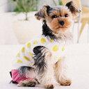 【ひゅう!シンプラーズ大型犬ファッション大特価】どんぐりシャツ ホワイト