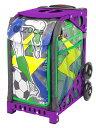 ZUCA Sport Insert Bag Striker & Flame purple
