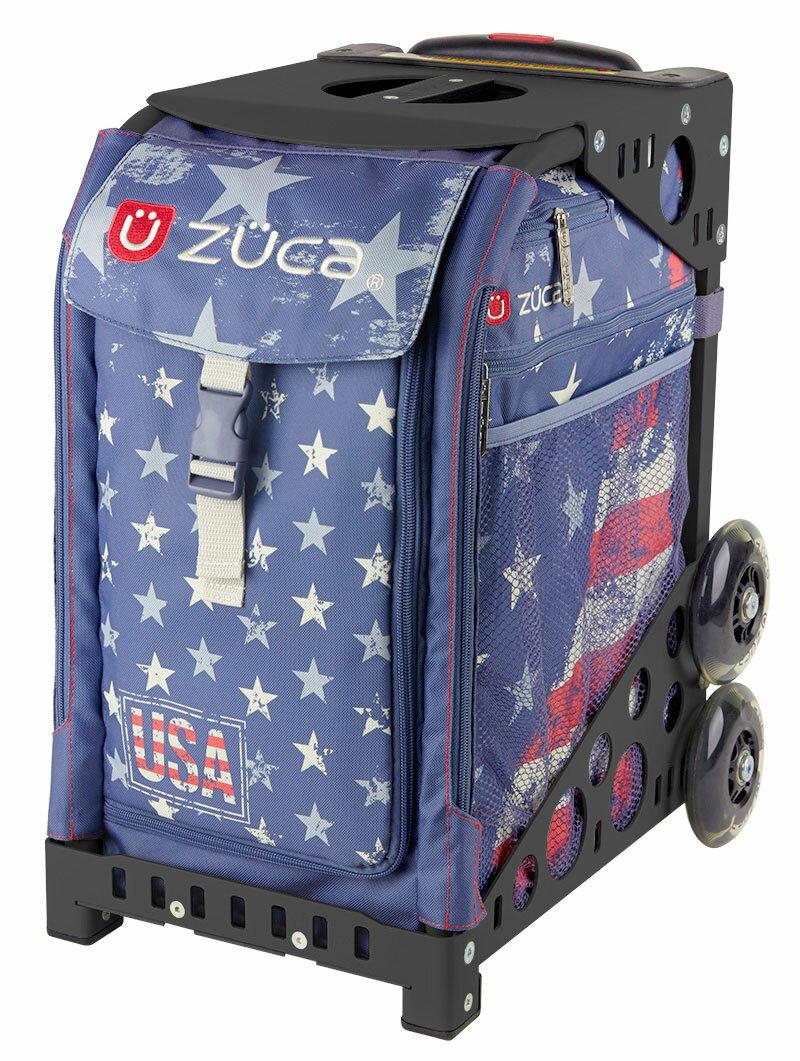 ZUCA Sport Insert Bag Go USA! & Flame black 関東・東海・関西1900円以上送料無料
