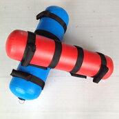 ウォーターバッグ28kg 2色セット(専用水栓コック・空気ポンプ付)[WILD FIT ワイルドフィット] 体幹 筋トレ 送料無料 アクアバッグ ウエイト トレーニング ラグビー アメフト