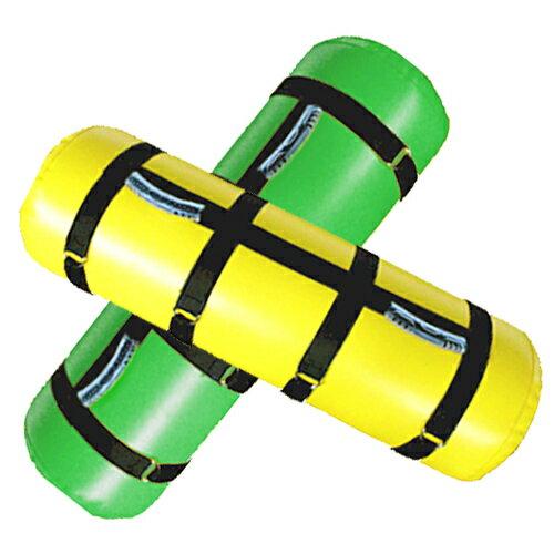 ウォーターバッグ36kg 2色セット(専用水栓コック・空気ポンプ付)[WILD FIT ワイルドフィット] 体幹 筋トレ 送料無料 アクアバッグ ウエイト トレーニング ラグビー アメフト