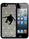 [The 3D idea] 3Dホログラムシート for iPhoneSE 5s/5 Skin SKATER スケーター スケボー スケートボード 3D-SK-MSKプラスチック 背面 ステッカー シール