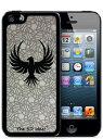 [The 3D idea] 3Dホログラムシート for iPhoneSE 5s/5 Skin BIRD バード 鳥 3D-SK-MBIプラスチック 背面 ステッカー シール 【ポッキリ500円】