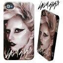 [Lux Mobile]Lady Gaga レディー・ガガ Born this Way - Hard Case for iPhone 4S/4ハードケース 保護フィルム、ホームボタンシール付き(UP)【オマケプレゼント】【100円均一】-stv