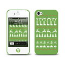 iphone 4s - [LAB.C] +D Case for iPhone 4s [JU-09] iphone4s ケース 保護フィルム、ホームボタンシール (UP)-stv