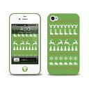 [LAB.C] +D Case for iPhone 4s [JU-09] iphone4s ケース 保護フィルム、ホームボタンシール (UP)-stv