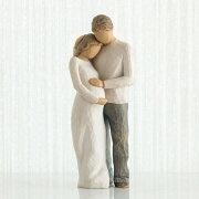母の日ギフト プレゼント 花以外 出産祝い 懐妊 男の子 女の子 両親 ペア カップル 置物 おしゃれ 彫刻 白 ワンピース 癒やしグッズ かわいい 人形 インテリア オブジェ フィギュア ウィローツリー彫像 Home