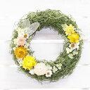 Qururi ルームリース ヴィータ 直径17cm | リース お花ギフト ドライフラワー プリザーブドフラワー 室内用 Vita