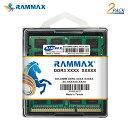 3853 RAMMAX RM-SD1600-D8GB (4GB 2枚組) DDR3 1600 (PC3-12800/PC3L-12800) 8GB Dual 低電圧 1.35V/1.5V両対応