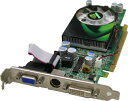 VGAカード【根強い人気、売れてます!】PCI-EXPRESS 16X 規格対応、NVIDIA GeForce 8600GTチップ ロープロファイル仕様256MB/128bitHDCP対応  Aeolus F86GT-DC256X