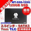 5102-DM WT-SSD-120GBT SSD 120GB SATA3 (6Gbps) 2.5インチ/厚さ: 7mm/ TLC