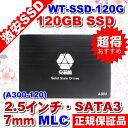 【予約:5/23〜24頃入荷予定】5060 WT-SD-120GB SSD 120GB SATA3 (6Gbps) 2.5インチ/厚さ: 7mm/ MLC