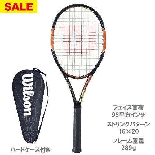 【SALE】ウイルソン[wilson]硬式ラケット BURN 95J(WRT730610+)※スマートテニスセンサー対応品
