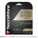 テクニファイバー [Tecnifibre] 硬式ストリング X-ONE バイフェイズ