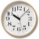 【ポイント10倍】Lemnos (レムノス)Riki Clock RC 電波時計 WR07-11