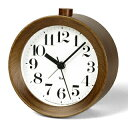 Lemnos(レムノス)RIKI ALARM CLOCK アラーム時計 WR09-15【ポイント10倍】