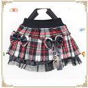 チェック 女の子 リボン スカート 女の子スカート 子供 スカート キッズ スカート 子供スカート キッズスカート 子供服 90/100/110/120cm 02P03Dec16
