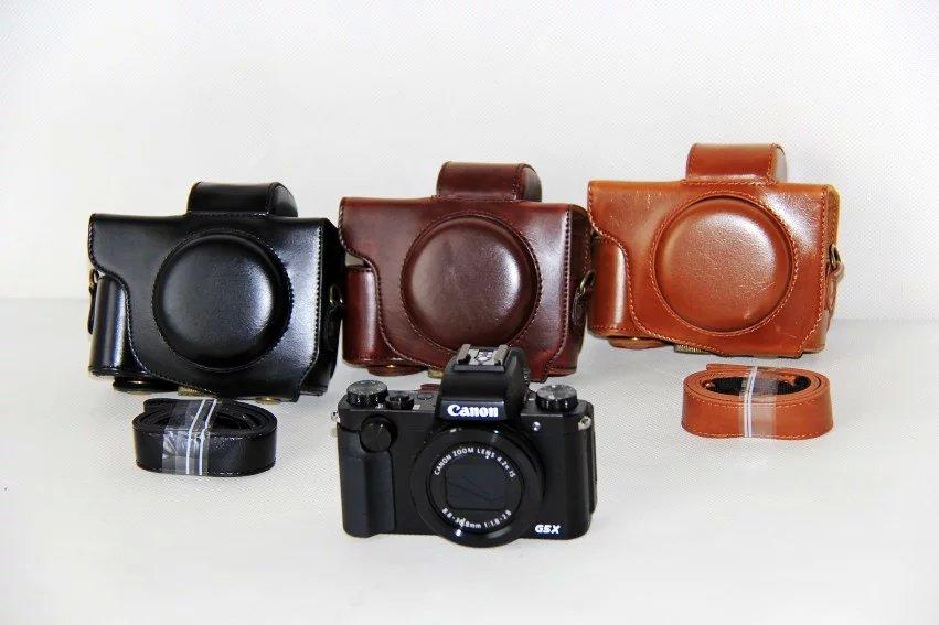 Canon PowerShot G5 X カメラケース G5X ケース カバー カメラーカバー バック カメラバック キャノン カメラ 一眼 合成革ケース デジタルカメラ用 送料無料 メール便【02P09Jul16】